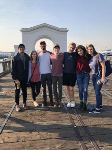 A few of our members exploring San Francisco